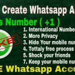How To Create WhatsApp Account From International Number