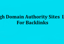 high-authority-backlinks-sites-list